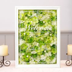 Flower Frame, Flower Art, Our Wedding, Dream Wedding, Welcome Boards, How To Preserve Flowers, Dried Flowers, Shadow Box, Curly Hair Styles