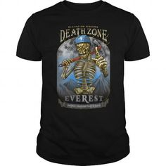 Awesome Tee DEATH ZONE: EVEREST T-Shirt T-Shirts