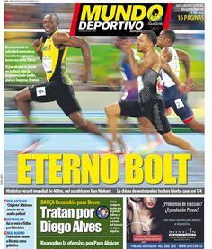Portada Mundo Deportivo, martes 16 de agosto de 2016