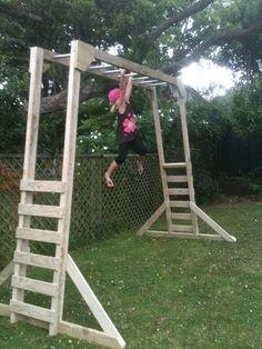 Free Standing Monkey Bars Backyard Pinterest Monkey Bar And - Build monkey bars ladder