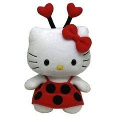 TY Beanie Baby - HELLO KITTY ( LADYBUG ) (UK Exclusive) by Ty, http://www.amazon.com/dp/B004FR0KQI/ref=cm_sw_r_pi_dp_CbYlqb1YYJEWX