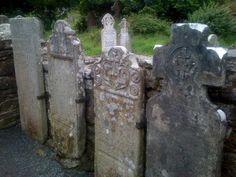 Headstones in Dublin cemetary