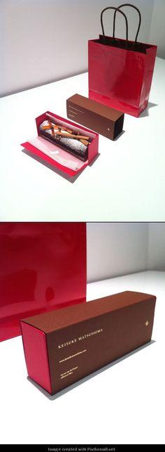 KEISUKE MATSUSHIMA + printemps : christmas cake [package design] http://www.artless.co.jp/alog/print/570/... -: