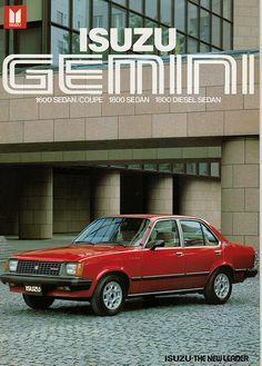 Isuzu Gemini export brochure by Hugo90, via Flickr