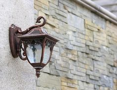 INCREDIO COLLECTION CLASSIC RUST WALL SCONCE