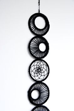 Suspend this onyx black lunar moon phase dream catcher above your bed and add a touch of lunar magic to your room. Interpreted through macrame and dream weaving this unique dreamcatcher is hand woven using black linen and black cording. Adorn with a silver wire wrapped angel aura quartz, known to bring balance, this wall piece will easily become your new favorite addition to your home. These Matriart best sellers are packaged thoughtfully, making it a cinch to gift to your special friend or…