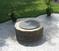 This paver patio with fire pit was built in 2012 and is relaxing space to spend the evening. #hardscape #throwbackthursday  Neptune's Water Gardens is the premier water feature design and installation company in the #Omaha Metro area. Our naturally balanced low-maintenance ecosystem ponds work with Mother Nature not against her. We pride ourselves in creating water features that appear to have always existed in their surrounding landscape. Whether you choose an ecosystem #pond decorative…