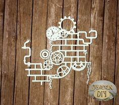 Laser Cut Chipboard