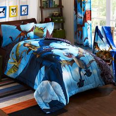How To Train Your Dragon Juvenile Bedding Comforter SOOOOO WANT THIS!!!!!!!!!!!