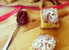 TORTA QUATTRO QUARTI ALLA MARMELLATA Confort Food, Ricotta, Italian Recipes, Nutella, Cheesecake, French Toast, Food And Drink, Sweets, Breakfast