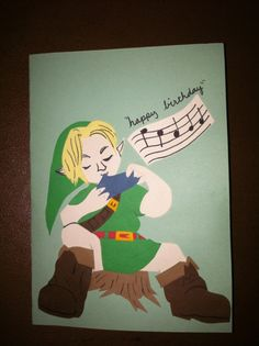 Zelda Birthday Card For My Niece Cards