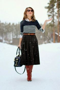 Different Kind Of Woman: Modest Winter Outfits Inspiration