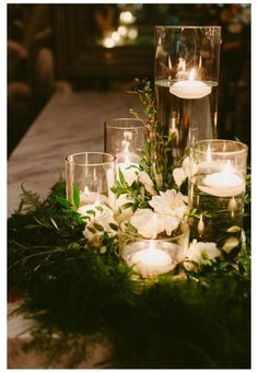 Cool 50 Elegant Rustic Christmas Table Centerpieces Ideas. More at http://trendecor.co/2017/12/13/50-elegant-rustic-christmas-table-centerpieces-ideas/