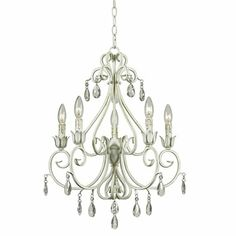 Kenroy Home Chamberlain 5-Light Chandelier. $286.20 from hsn.com