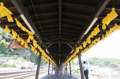 8月3日 豊後竹田駅