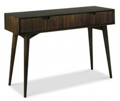 Bentley Designs Oslo Oak Console Table with Draws American Oak
