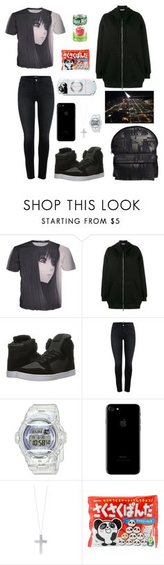 """Late Night Flights"" by rorschachsjournal ❤ liked on Polyvore featuring Givenchy, Supra, Baby-G, Eddie Borgo and Sony"