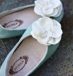 I have to buy shoes from this site for my girls. Beautiful!
