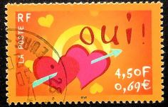 Love Stamp - France