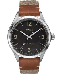 The Waterbury 3-hand with Date | Global Timex
