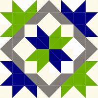 Happy Quilting: January is Quilt-A-Long Time . Star Quilt Blocks, Star Quilts, Scrappy Quilts, Barn Quilt Designs, Quilting Designs, Quilting Tutorials, Quilting Projects, Quilting Tips, Seahawks Colors