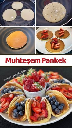 İngilizlerin Orjinal Pankek (Pancake) Tarifim - Nefis Yemek Tarifleri Turkish Recipes, Ethnic Recipes, High Tea, Waffles, French Toast, Healthy Living, Food And Drink, Cooking Recipes, Meals