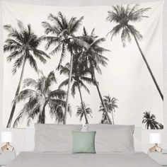Discover the best beach themed tapestries and coastal wall tapestries. We love beach wall decor and tapestries are affordable and beautiful, which makes them a great option. Tree Tapestry, Tapestry Bedroom, Bedroom Art, Tapestry Wall Hanging, Bedroom Ideas, Coconut Palm Tree, Psychedelic Tapestry, Beach Wall Decor, Tree Wall