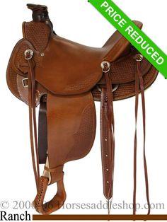 "15"" Dakota Wade Tree Saddle 809"