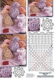 Marvelous Crochet A Shell Stitch Purse Bag Ideas. Wonderful Crochet A Shell Stitch Purse Bag Ideas. Crochet Sachet, Crochet Pouch, Crochet Keychain, Thread Crochet, Crochet Granny, Crochet Gifts, Crochet Stitches, Crochet Bags, Mode Crochet