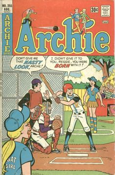 Archie, Veronica, Betty, Jughead and Reggie. Archie Comics Characters, Archie Comic Books, Old Comic Books, Vintage Comic Books, Comic Book Covers, Vintage Comics, Old Comics, Funny Comics, Archie Betty And Veronica