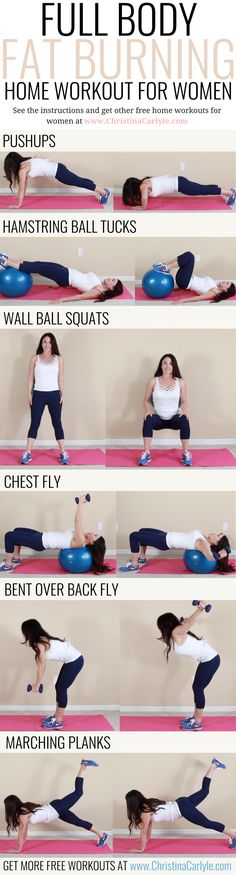 Full Body Fat Burning Workout Routine for Women. This workout routine was created with some of the best fat burning exercises for women. Exercise at home with this Full Body Fat Burning Workout Routine for Women perfect for moms and beginners that want to burn fat fast. | Exercises that burn fat | Home Workout for beginners and moms