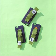 SECOND UNIQUE NAMEセカンドユニークネーム IPhone7/7plus ケース 青&緑ベルト ペアジャケットIPhone6/6S/6plus/6Splus/5/5S/SEジャケット