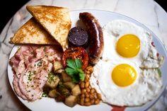 The English breakfast at Jones Wood Foundry.