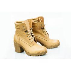 Kožené dámske topánky v pieskovej farbe - fashionday.eu Timberland Boots, Shoes, Life, Fashion, Self, Colors, Moda, Zapatos, Shoes Outlet