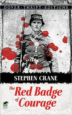 THE RED BADGE OF COURAGE follows the experiences of 19-year-old Henry Fleming, a recruit in the American Civil War. Fleming overcomes initial fears and shame for his cowardice through strength of will, determination, and effort. He eventually masters his shortcomings and becomes a hero on the battlefield.
