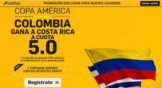 el forero jrvm y todos los bonos de deportes: betfair Colombia gana Costa Rica supercuota 5 Copa...