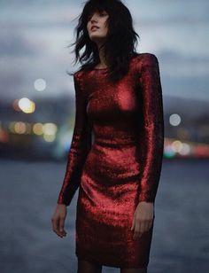 Katlin Aas Vogue Turkey