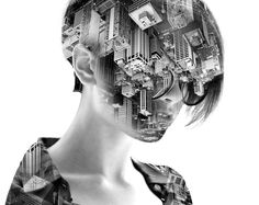 Stunning Double Exposure Portraits Where I Merge Two Worlds Into One Double Exposure Photography, Levitation Photography, Surrealism Photography, Water Photography, Abstract Photography, Macro Photography, Creative Photography, Portrait Photography, Portraits En Double Exposition