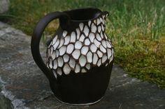 Steengoed keramische aardewerk werper Creamer, saus, siroop