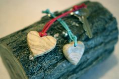 Wooden heart keychain, personalizable with initials, pyrograhy - gift idea- St. Valentine gift by JoyMadeInItaly on Etsy