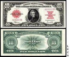 Lewis and Clark 10 dollar bill