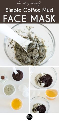 DIY Simple Coffee Mud Mask | Be Daze Live - skin brightening - acne-fighting - skin detox - deep cleansing - radiant skin