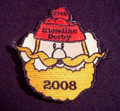 "Patch Badge Boy Scouts 37Th Klondike Derby 2008, 4"" Tall, Scouting, Cubs, Beavers, Boy Scouts"