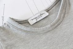 How to sew a knit neckline binding // The Megan Nielsen method