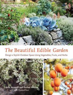 """""""The Beautiful Edible Garden"""" provides information on how to not only grow organic fruits and vegetables, but also make your garden a place of year-round beauty that is appealing, enjoyable and fits your personal style. Read an excerpt from this book on growing edible container gardens."""