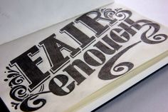 20 Typography Designs for Inspiration: March 2012