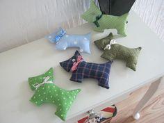 Lavender filled scotty dogs - Folksy