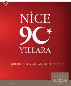Nice 90 Yıllara, Cumhuriyet Bayramımız Kutlu Olsun.