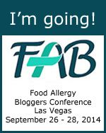 I'm going to the  Food Allergy Bloggers Conference! #FABLOGCON