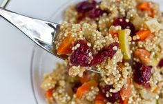 Lovely & Light Cranberry, Apple, and Almond Quinoa